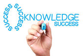 Knowledge Is Key Of Success — Stockfoto