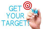Get Your Target — ストック写真