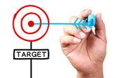 Target — Foto de Stock