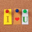 I Love You — Stock Photo #58415653