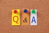 Q & A — Stock Photo