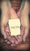 Faith — Stock Photo