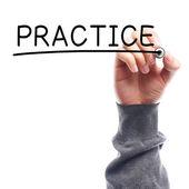 Practice — Stock Photo