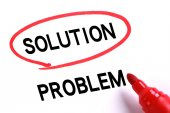 Solution Of Problem — Stock Photo