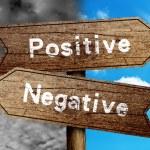 Positive Or Negative — Stock Photo #58854491