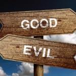 Good Or Evil — Stock Photo #58854889