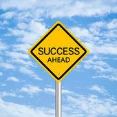 Success Ahead — Stock Photo