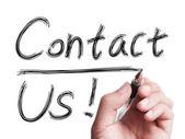 Contact Us — Foto de Stock