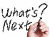 Whats Next — Stock Photo