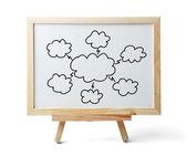 Cloud Computing Chart — Foto Stock