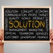 Solution Word Cloud — Stock Photo #66359539