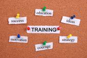 Training concept — Stock Photo