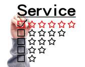 Servicekoncept — Stockfoto