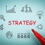 strategie — Stock fotografie #75118673