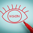 Vision eye — Stock Photo #75119339