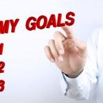 My goals — Stock Photo #75121109