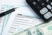 Tax financial concept — Stock Photo