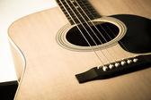 Guitarra acústica — Foto de Stock