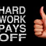 Hard Work Pays Off — Stock Photo #83395810
