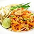 Stir fried rice noodle with shrimp 002 — Stock Photo #59496497
