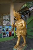 Thai gold fine art statue — Stockfoto