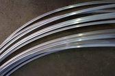 Curve of metal tube — Stock Photo