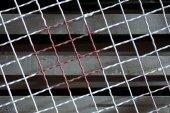Filo metallico astratta — Foto Stock