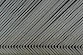 Line up gray metal slat — Stock Photo