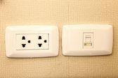 Power receptacle — Stock Photo