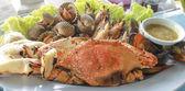Mixed seafood — Stock Photo