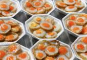 Quail eggs. — Stock Photo