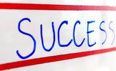 Success on whiteboard — ストック写真