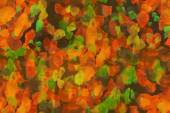 Seamless texture, paint stains, background, autumn, leaves — Stock Photo