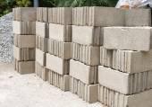 Pile of Concrete Block — Foto de Stock