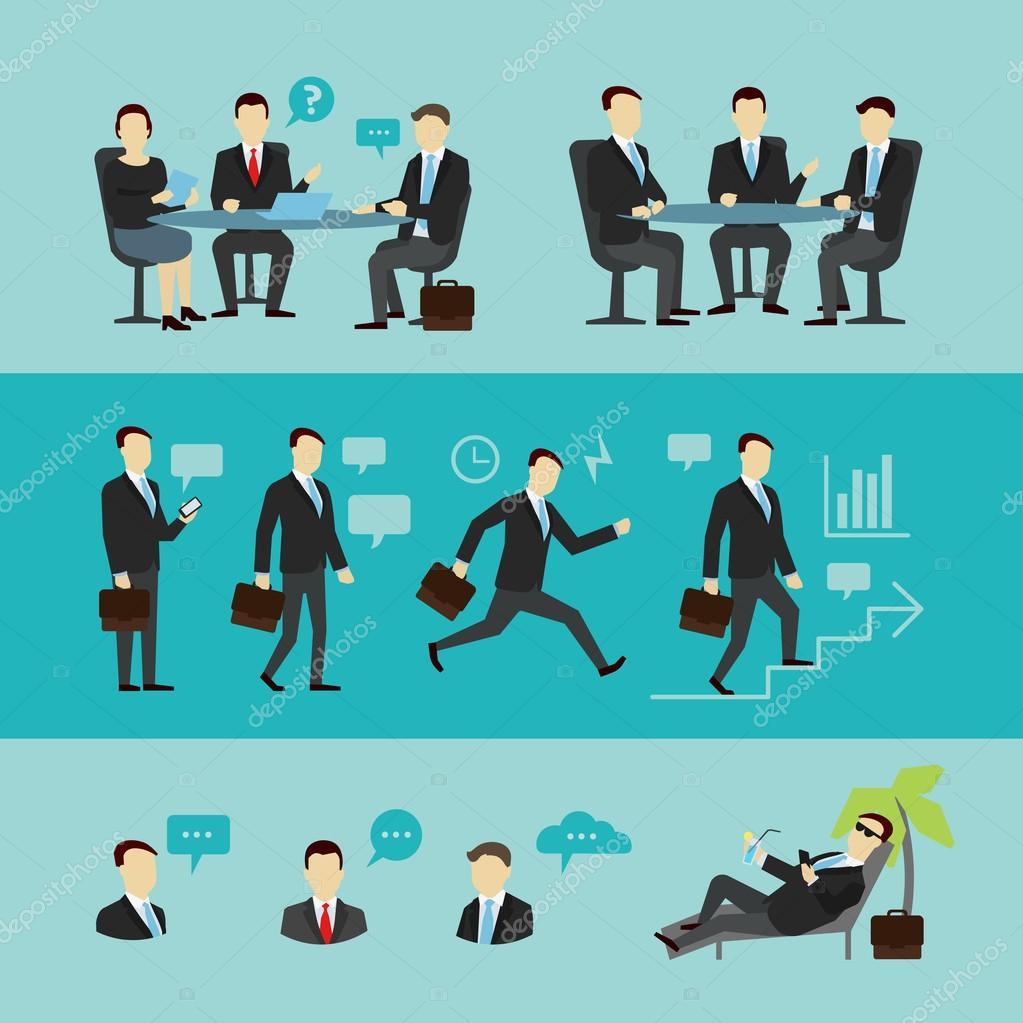 teamwork set interview vector flat stock vector © ilyakalinin teamwork set interview vector flat stock vector 70633867