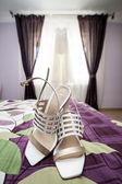 Chaussures de mariée — Photo