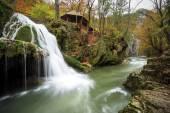 Bigar waterfall,Romania — Fotografia Stock