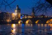 Charles bridge in Prague, Czech Republic — Stock Photo