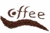 Inscription of coffee — Stock Photo