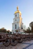 Saint Sophia Cathedral in Kiev is an outstanding architectural m — Stock Photo