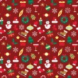 Seamless pattern for Christmas and New Year. — Stock Vector #59090701
