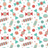 Candies seamless pattern. — Stock Vector