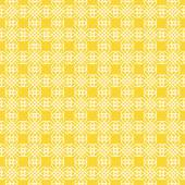 Geometric pattern on yellow background. — Stock Vector