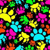Cat and Dog Textile Pattern. Vector seamless. — Stock vektor