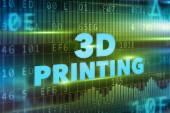 3D printing concept — Zdjęcie stockowe