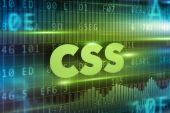 CSS concept — Stock Photo