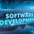 Software development concept — Stock Photo #58188255