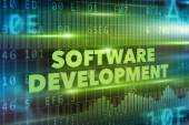 Software development concept — Stock Photo