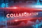 Collaboration concept — Stock Photo