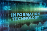 Information technology concept — Stock Photo